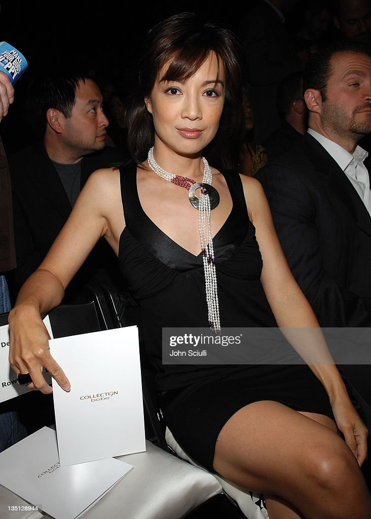 Ming Na during MercedesBenz Spring 2007 LA Fashion Week at Smashbox Studios Collection bebe Front Row and Backstage at Smashbox Studios in Culver...