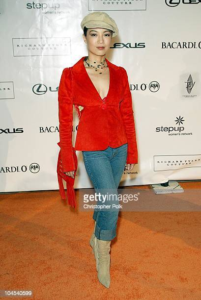 Ming Na during Step Up Women's Network Lexus Present 'An Evening of Fashion Music' at Jim Henson Studios in Hollywood CA United States