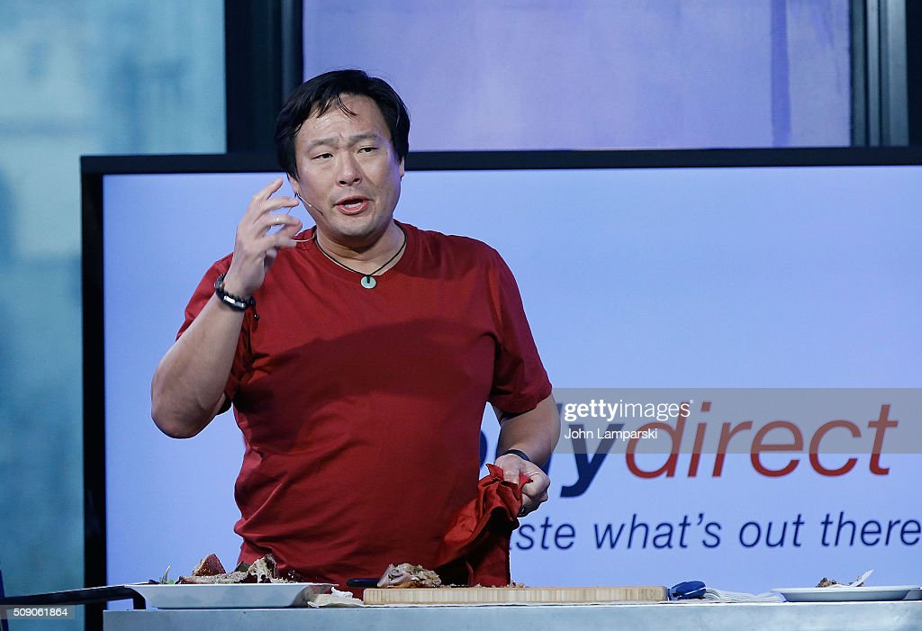 Ming Tsai attends AOL Build Speaker Series at AOL Studios In New York on February 8, 2016 in New York City.