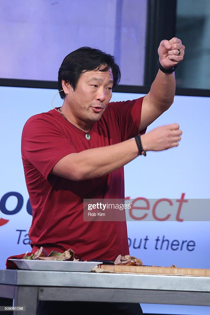 Ming Tsai attends AOL Build Speaker Series - Ming Tsai at AOL Studios In New York on February 8, 2016 in New York City.