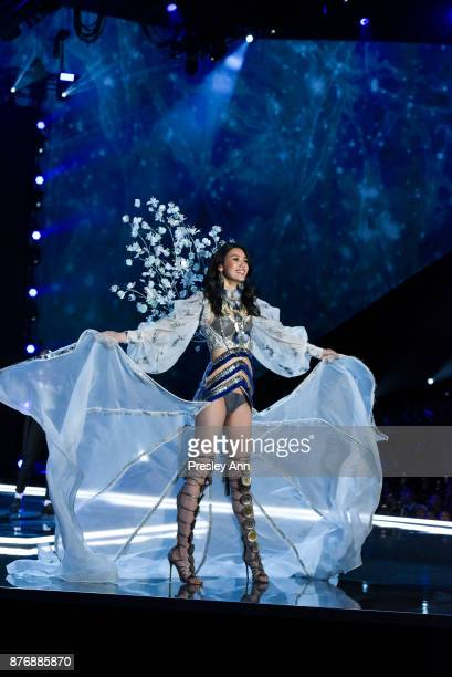 Ming Xi attends 2017 Victoria's Secret Fashion Show In Shanghai Show at MercedesBenz Arena on November 20 2017 in Shanghai China
