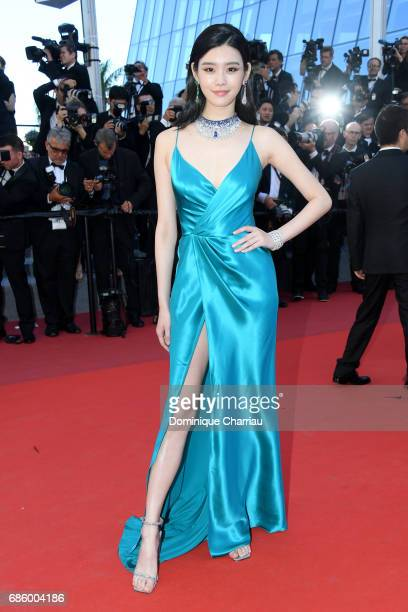 Ming Xi attends the '120 Beats Per Minute ' screening during the 70th annual Cannes Film Festival at Palais des Festivals on May 20 2017 in Cannes...