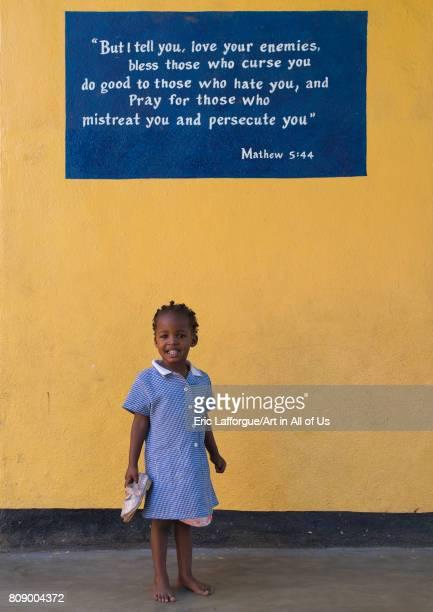 Mingi girl in Omo child foundation Omo valley Jinka Ethiopia on June 10 2017 in Jinka Ethiopia