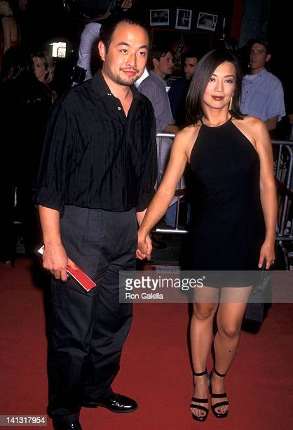 MingNa and Eric Zee at the Premiere of 'Boogie Nights' Mann's Chinese Theatre Hollywood