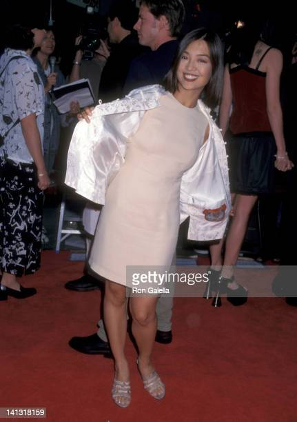 MingNa at the Premiere of 'Spawn' Mann's Chinese Theatre Hollywood