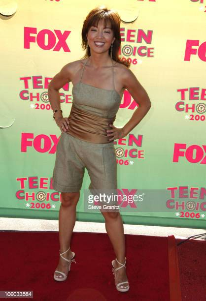 MingNa during 2006 Teen Choice Awards Arrivals at Gibson Amphitheatre in Universal City California United States