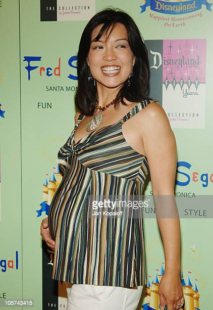 MingNa during Disney Vintage by Jackie Brander Celebrates 50th Anniversary of Disneyland at Fred Segal Santa Monica in Santa Monica California United...