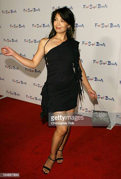 MingNa during Fred Segal Beauty Salon Spa Launch Party at Fred Segal Beauty in Santa Monica California United States