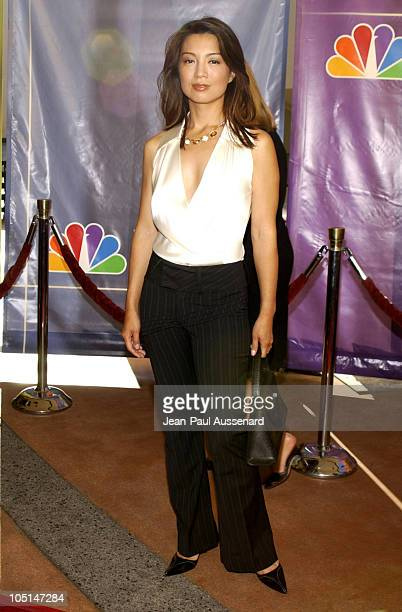 MingNa during NBC All Star Casino Night 2003 TCA Press Tour Arrivals at Renaissance Hotel Grand Ballroom in Hollywood California United States