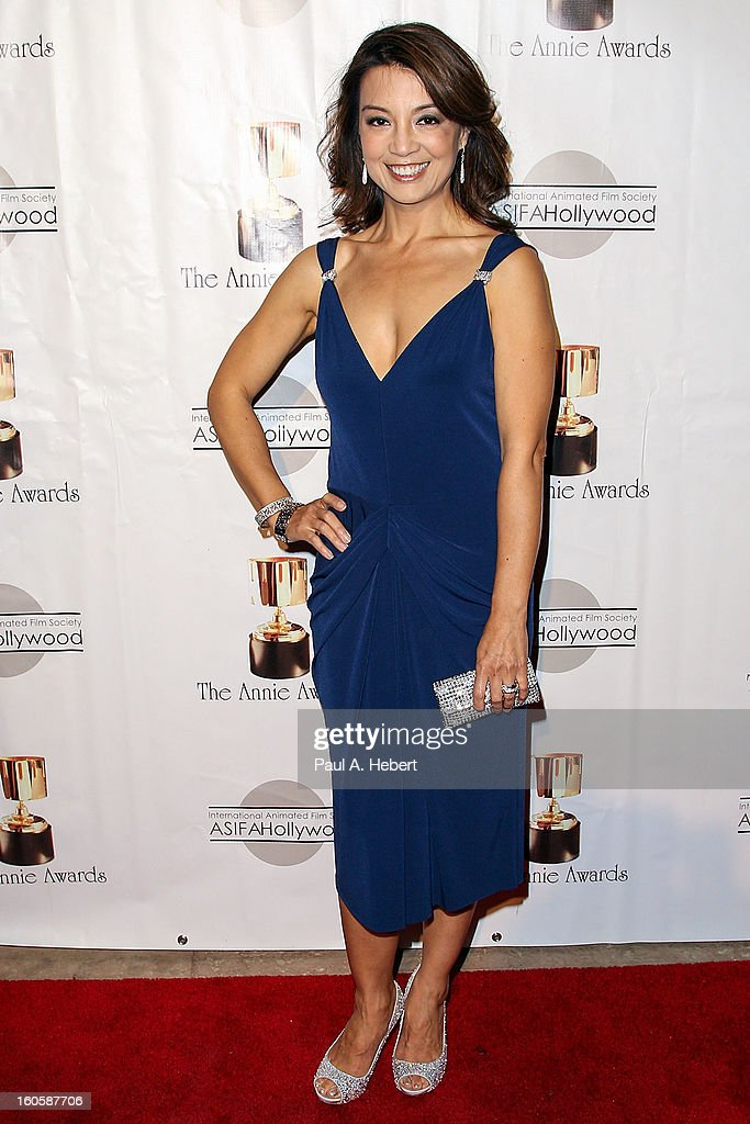 Ming-Na Wen arrives at the 40th Annual Annie Awards held at Royce Hall on the UCLA Campus on February 2, 2013 in Westwood, California.