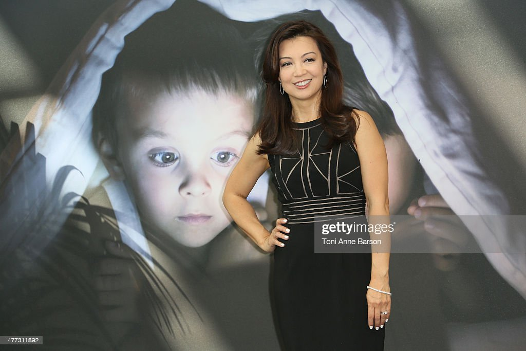 Ming-Na Wen attends photocall for 'Agent of SHIELD' at the Grimaldi Forum on June 16, 2015 in Monte-Carlo, Monaco.