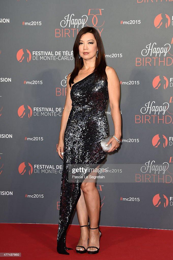 MingNa Wen attends the 55th Monte Carlo Beach anniversary as part of the 55th Monte Carlo TV Festival Day 4 on June 16 2015 in MonteCarlo Monaco