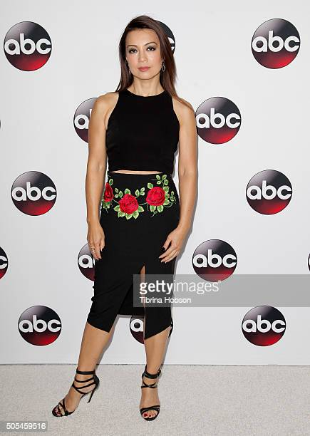 MingNa Wen attends the Disney/ABC 2016 Winter TCA Tour at Langham Hotel on January 9 2016 in Pasadena California
