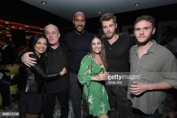 MingNa Wen Jeph Loeb Henry Simmons Natalia CordovaBuckley Luke Mitchell and Ian De Caestecker attend Hulu's New York Comic Con After Party at The...