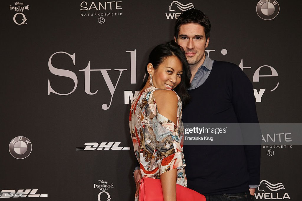 Minh Khai Phan Thi and Ansgar Niggemann attend the 'Michalsky Style Nite Arrivals - Mercesdes-Benz Fashion Week Autumn/Winter 2013/14' at Tempodrom on January 18, 2013 in Berlin, Germany.