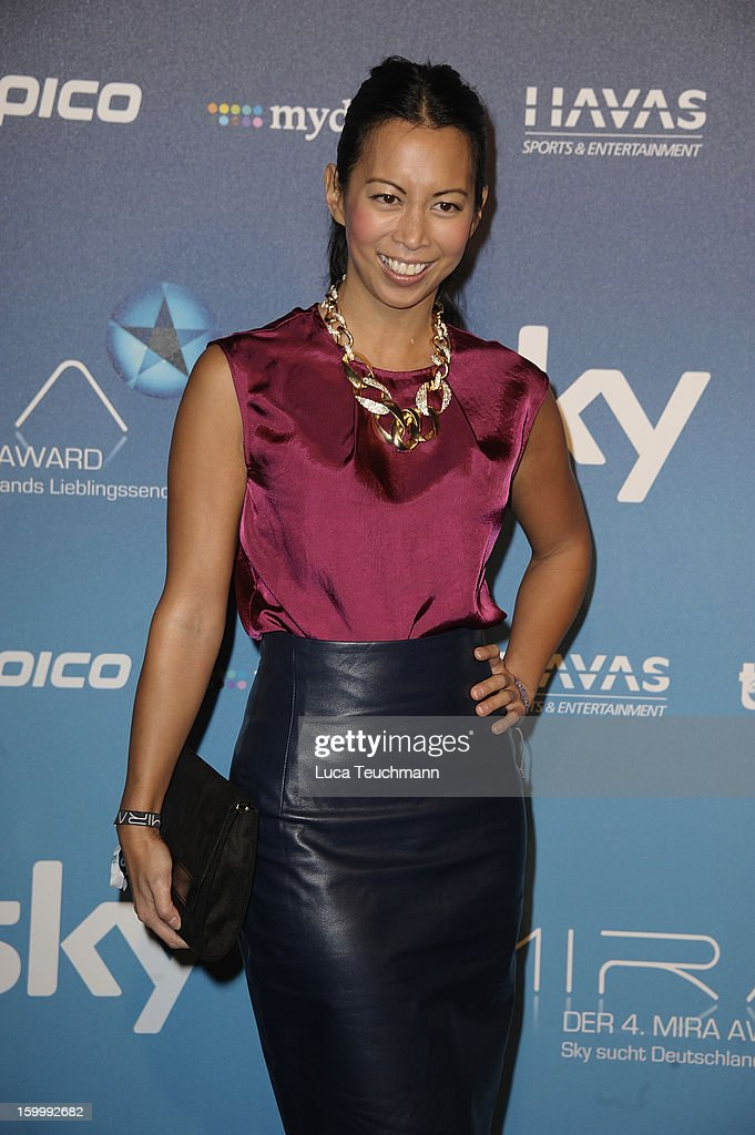 Minh-Khai Phan-Thi attends the Mira Award 2013 at Station on January 24, 2013 in Berlin, Germany.