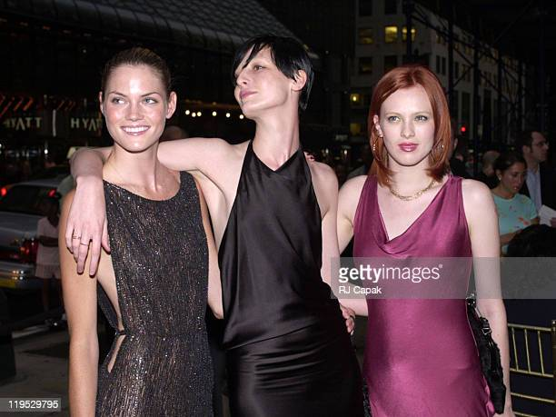 Mini Anden Erin O'Connor and Karen Elson during Casino to support DIFFA at Cipriani 42nd Street in New York City New York United States