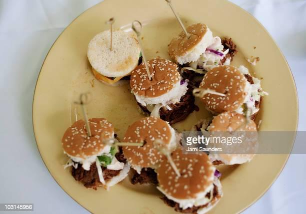Mini BBQ Burgers