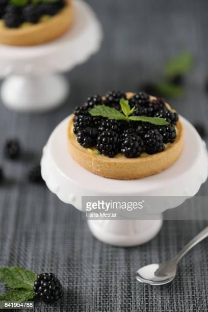 Mini blackberry french pies