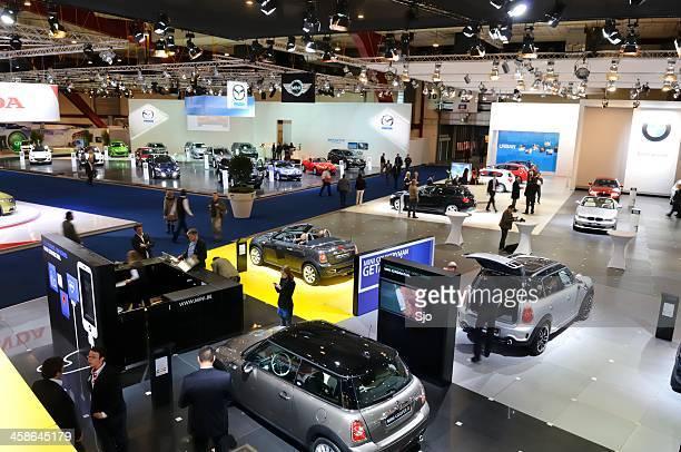 Mini, BMW and Mazda motor show