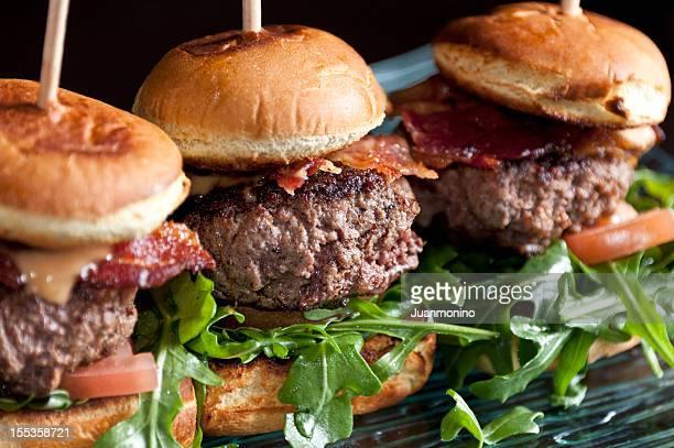 Des Mini-hamburgers