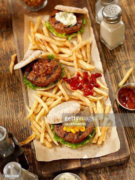 Mini Burger's with Fries