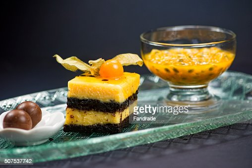 Cake With Fruit Pulp : Passion Fruit Juice Stock Photos and Pictures Getty Images
