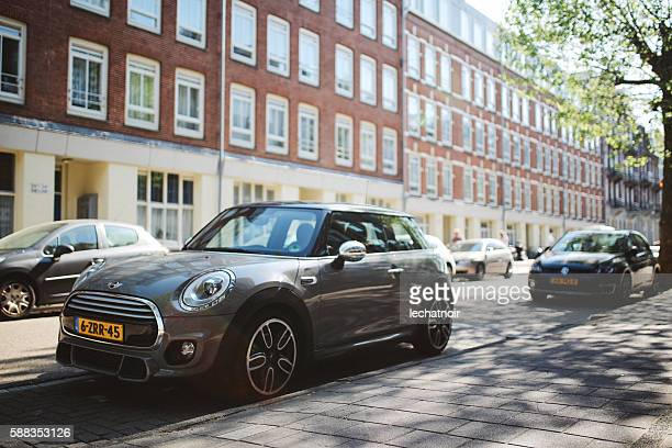 Mini Cooper in Amsterdam