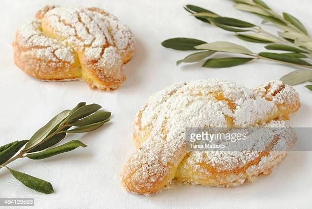 Mini Easter Dove Cake-Colomba