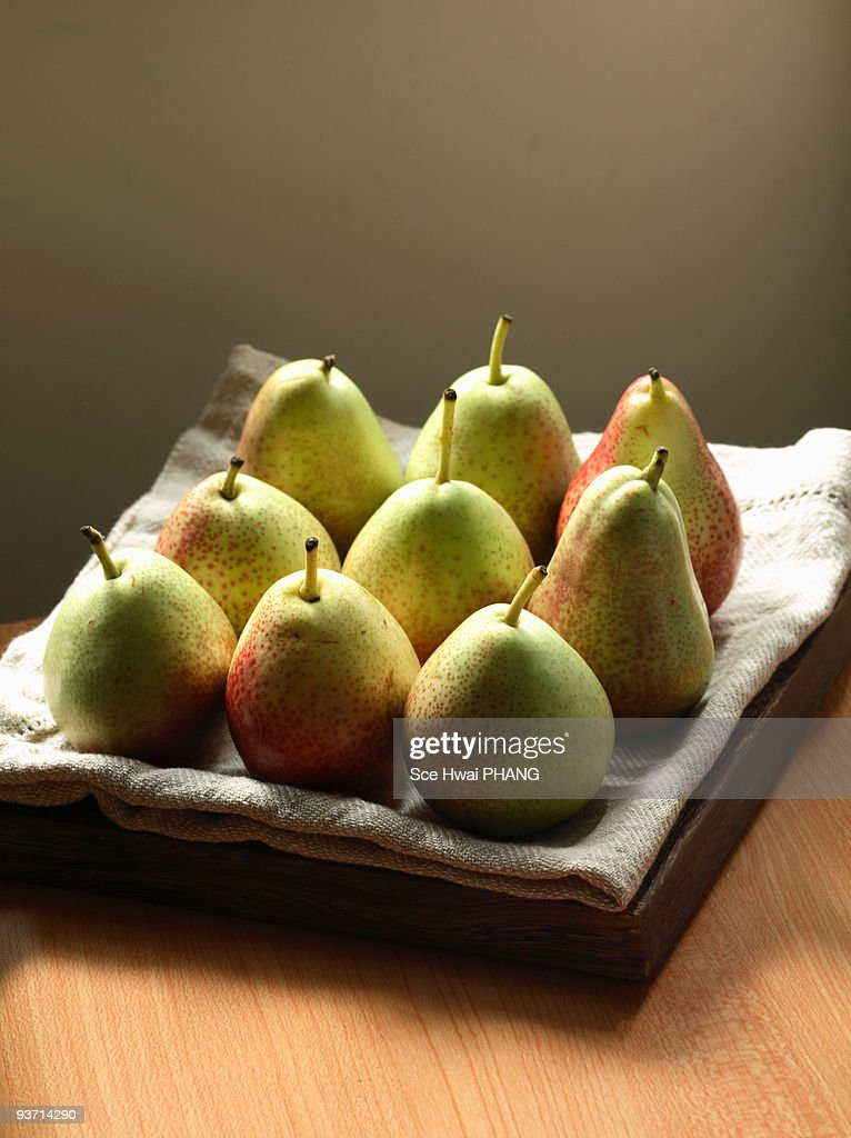 Mini forelle pears : Stock Photo
