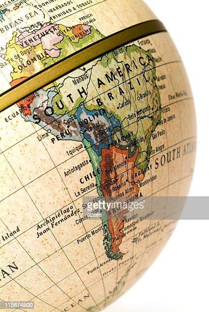 Mini Globe South America (Request)