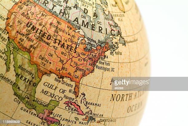 Mini Globe USA Eastern Seaboard