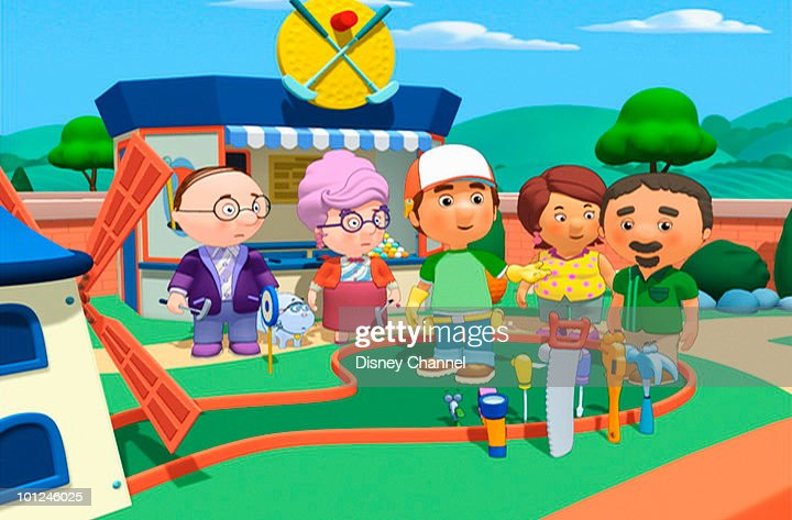 handy manny and