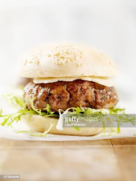 Mini-Hamburger mit Käse und Havarti