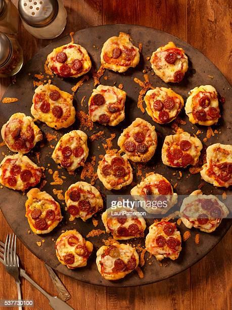 ミニ自家製ペパロニピザ軽食