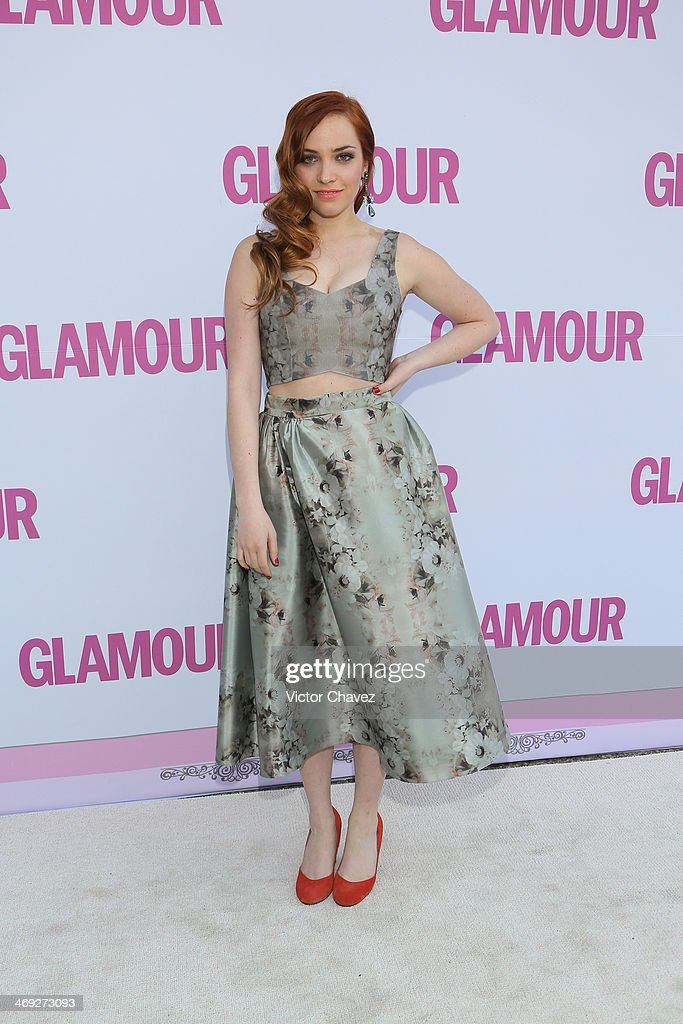 Mini West attends the Glamour Magazine México Beauty Awards 2013 at Museo Rufino Tamayo on February 13, 2014 in Mexico City, Mexico.