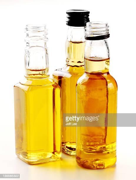 Mini whiskey bottles