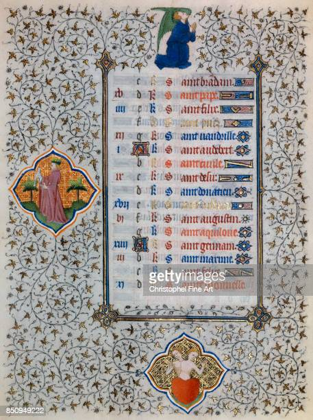 Miniature Book of Hours of the Duke of Guise Astrological Signs Gemini Chantilly musee Conde