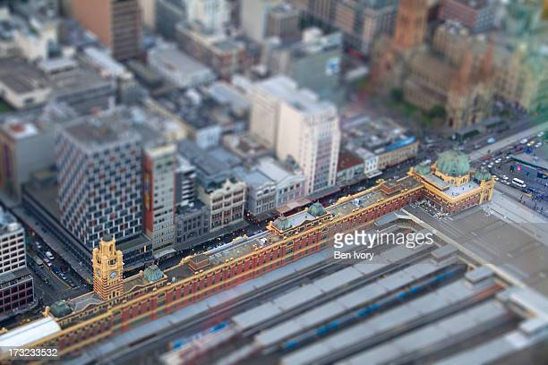 'Miniature' Flinders Street Station, Melbourne
