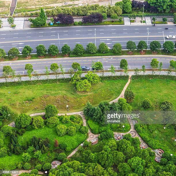 Miniature green garden