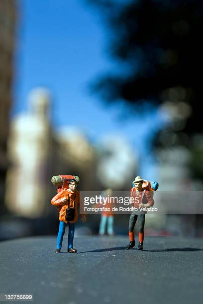 Miniature human figures