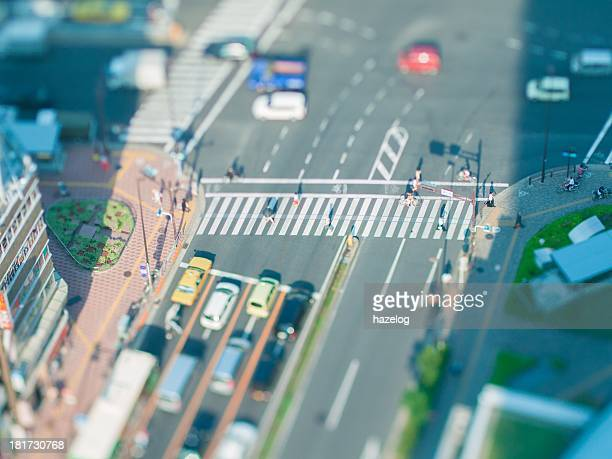 Miniature Landscapes of crosswalk