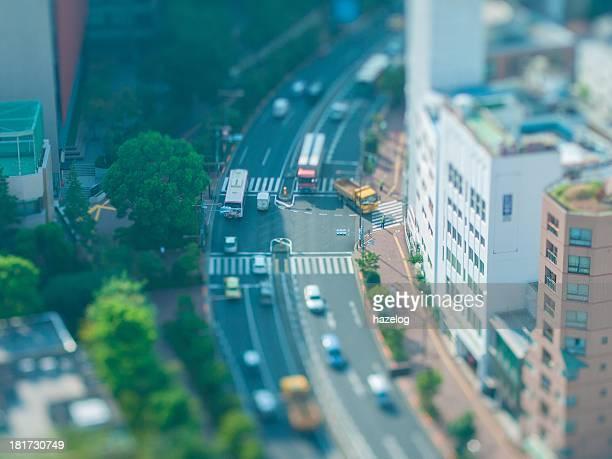 Miniature Landscapes of heavy vehicles