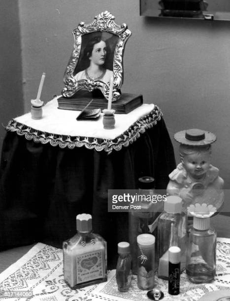 Miniature of Christ in bedroom of Cheryl Ann Cannon Credit Denver Post