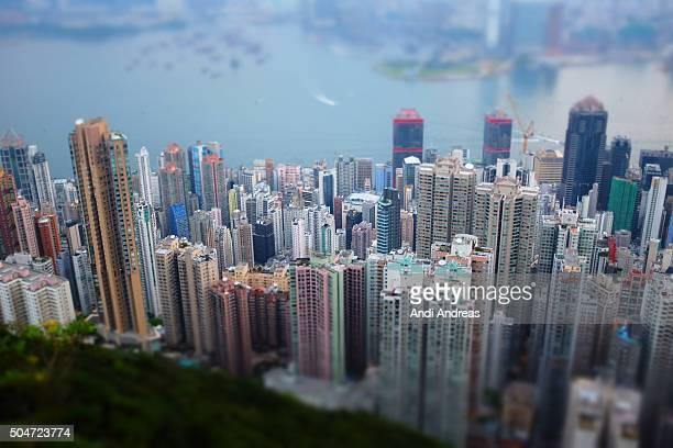 Miniature of Hong Kong Skyline