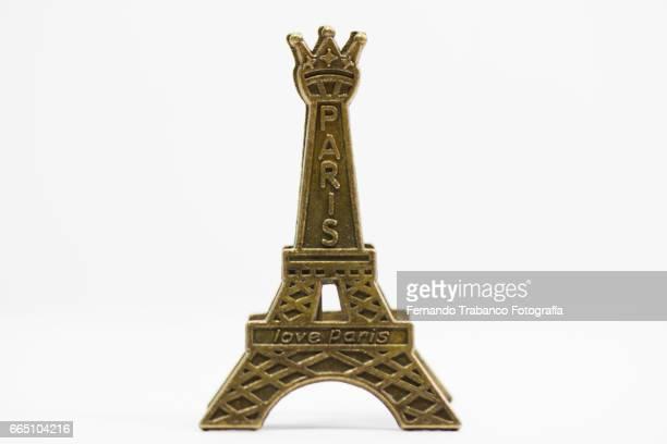 Miniature of the Eiffel Tower. I love Paris