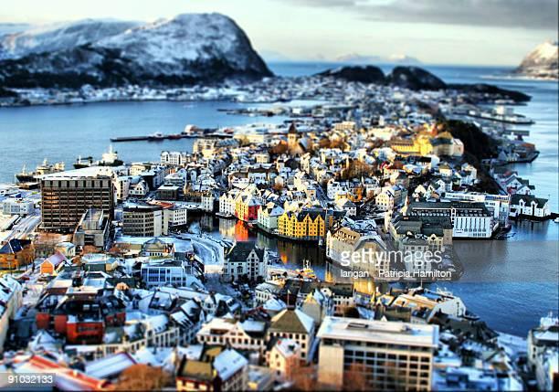 Miniature town