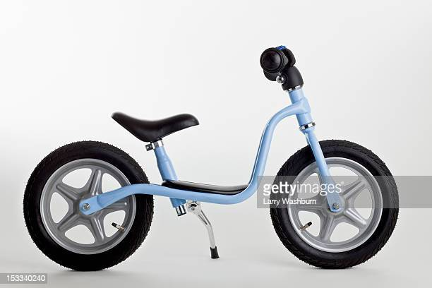 A miniature toy bicycle