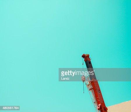 Minimal Crane Lifter : Stock Photo