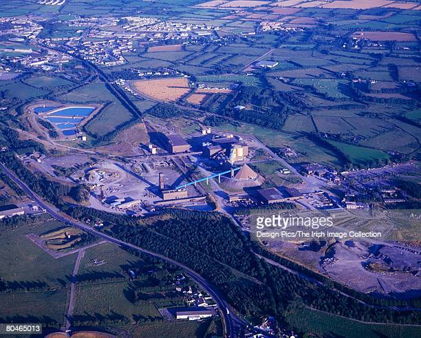 Mining - Aerial, Tara Mines, Navan, Co Meath, Ireland